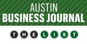 Austin Business Journal The List